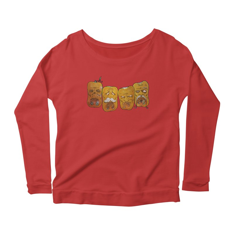 Country Pumpkins Women's Scoop Neck Longsleeve T-Shirt by Tail Jar's Artist Shop