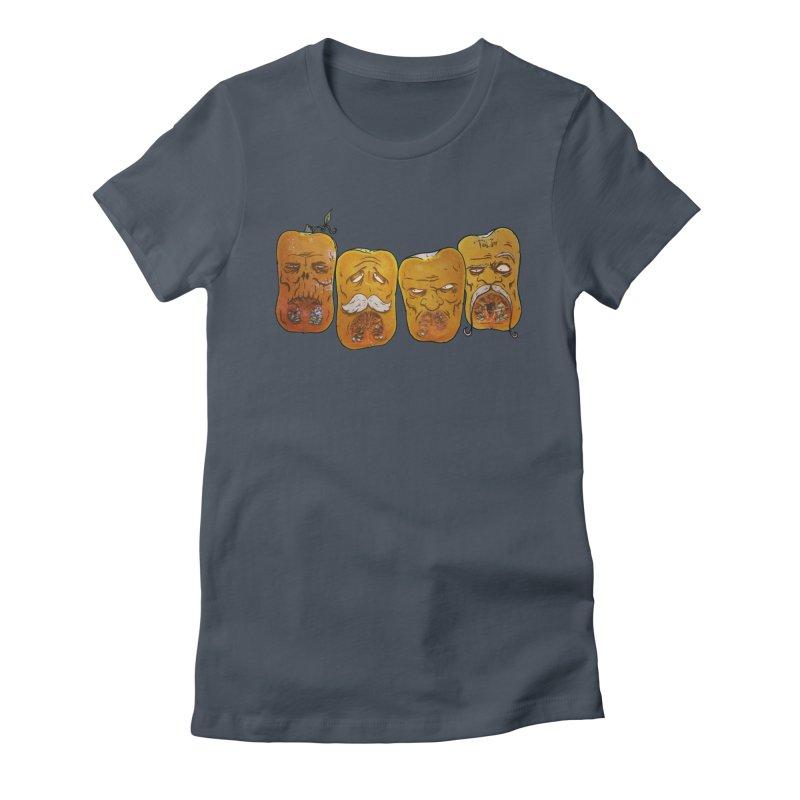 Country Pumpkins Women's T-Shirt by Tail Jar's Artist Shop