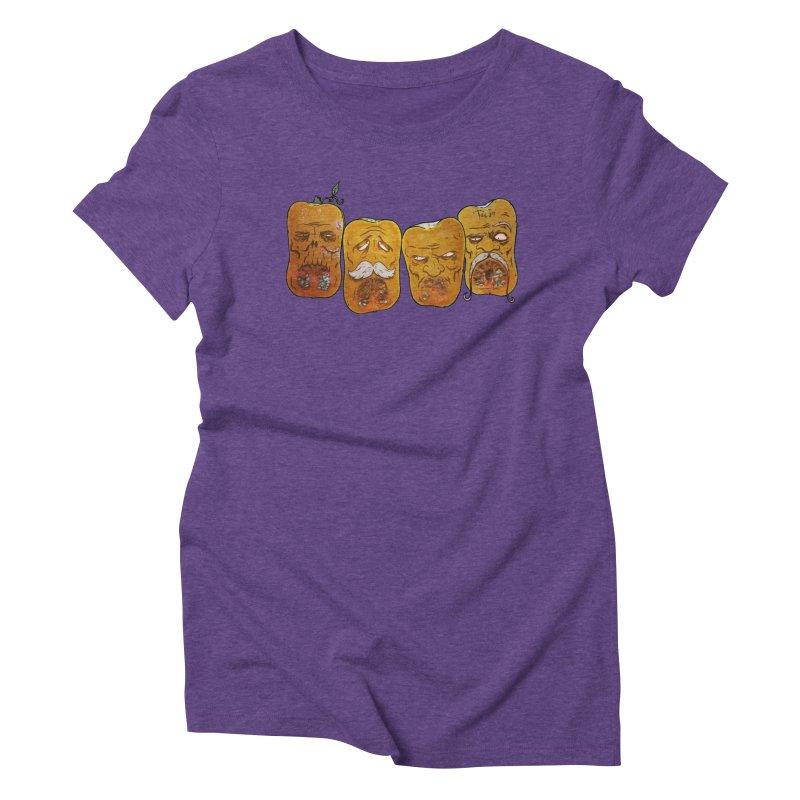 Country Pumpkins Women's Triblend T-Shirt by Tail Jar's Artist Shop