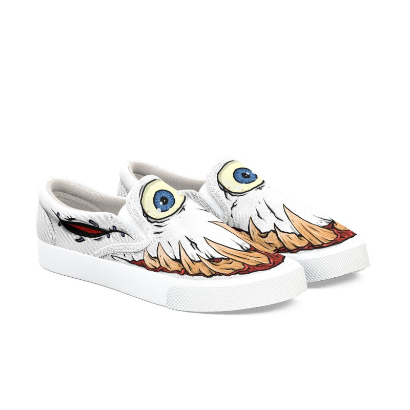 Cyclops Kicks - Mens in Men's Slip-On Shoes by Tail Jar's Artist Shop