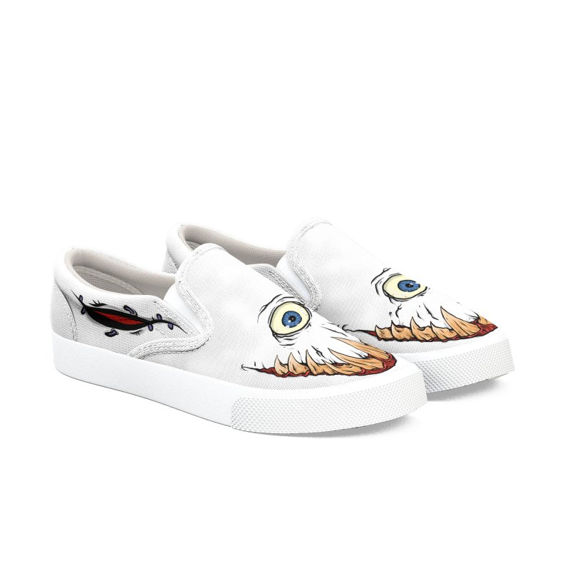 Cyclops Kicks - Womens Women's Slip-On Shoes by Tail Jar's Artist Shop