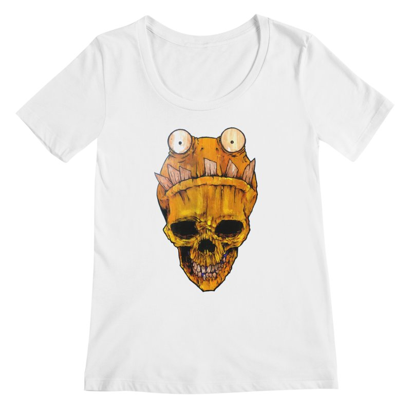 Who's Wearing Who? Women's Regular Scoop Neck by Tail Jar's Artist Shop