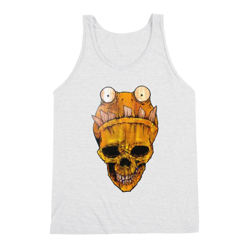 Who's Wearing Who? Men's Triblend Tank by Tail Jar's Artist Shop