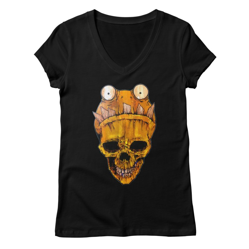 Who's Wearing Who? Women's Regular V-Neck by Tail Jar's Artist Shop
