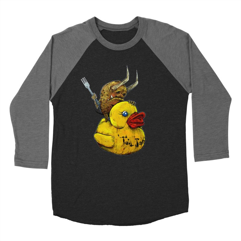 Varguhl The Destroyer Men's Baseball Triblend Longsleeve T-Shirt by Tail Jar's Artist Shop