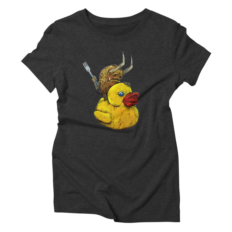 Varguhl The Destroyer Women's Triblend T-Shirt by Tail Jar's Artist Shop