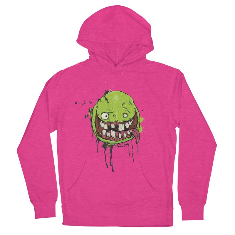 Happy Women's French Terry Pullover Hoody by Tail Jar's Artist Shop