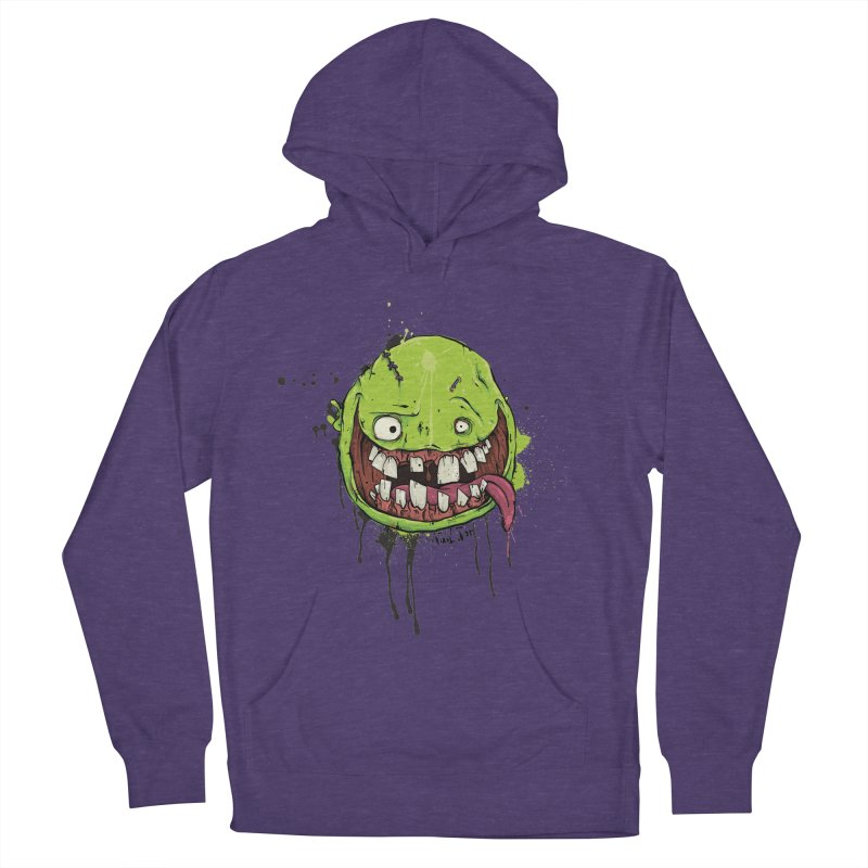 Happy Men's French Terry Pullover Hoody by Tail Jar's Artist Shop