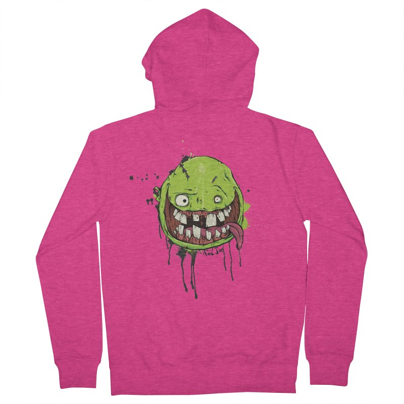 Happy Women's French Terry Zip-Up Hoody by Tail Jar's Artist Shop