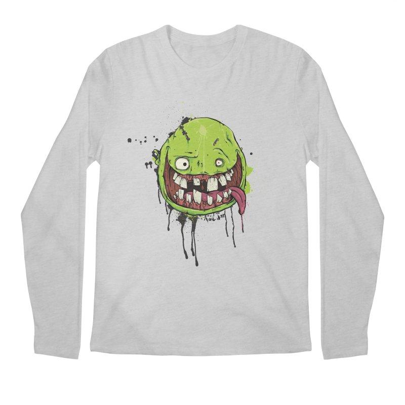 Happy Men's Regular Longsleeve T-Shirt by Tail Jar's Artist Shop
