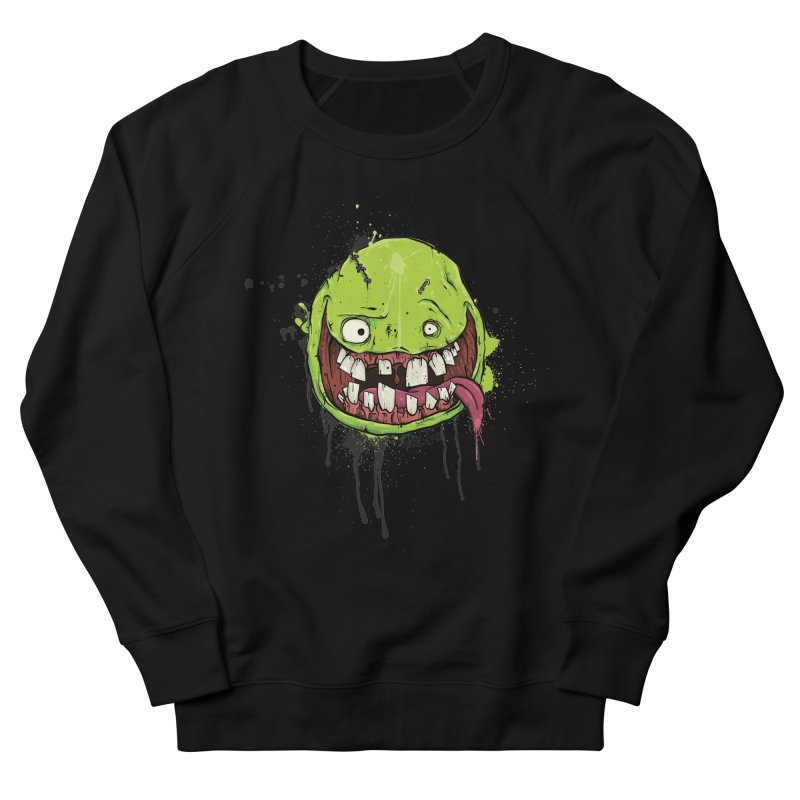 Happy Men's French Terry Sweatshirt by Tail Jar's Artist Shop