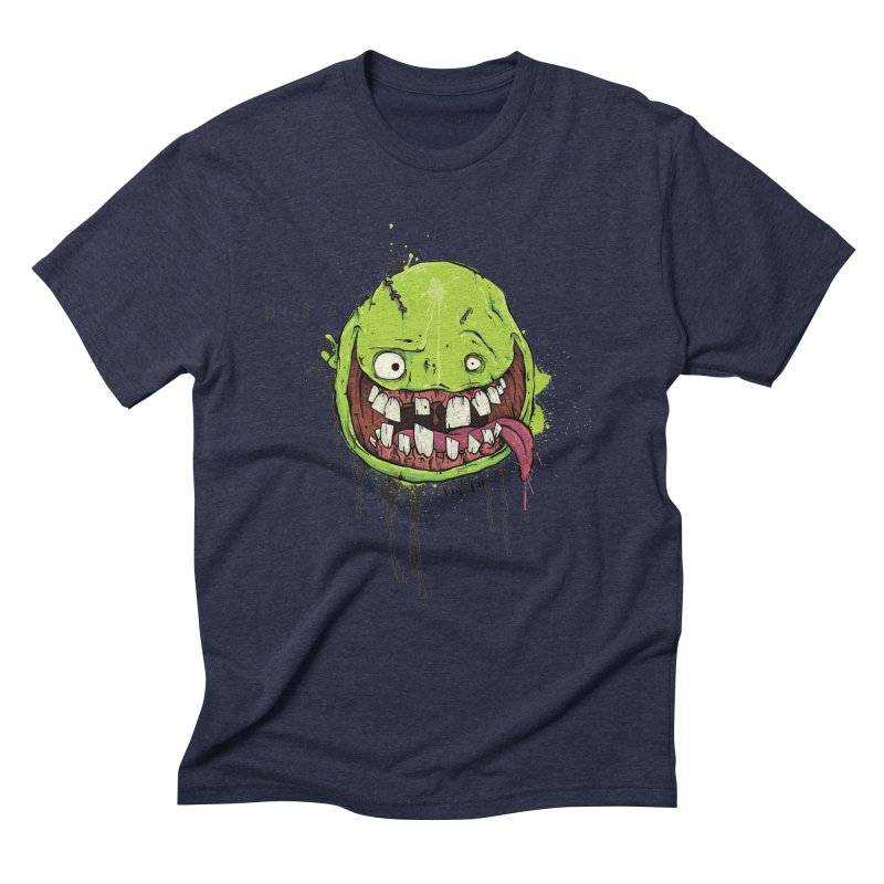 Happy Men's Triblend T-Shirt by Tail Jar's Artist Shop