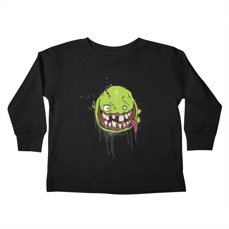 Happy Kids Toddler Longsleeve T-Shirt by Tail Jar's Artist Shop
