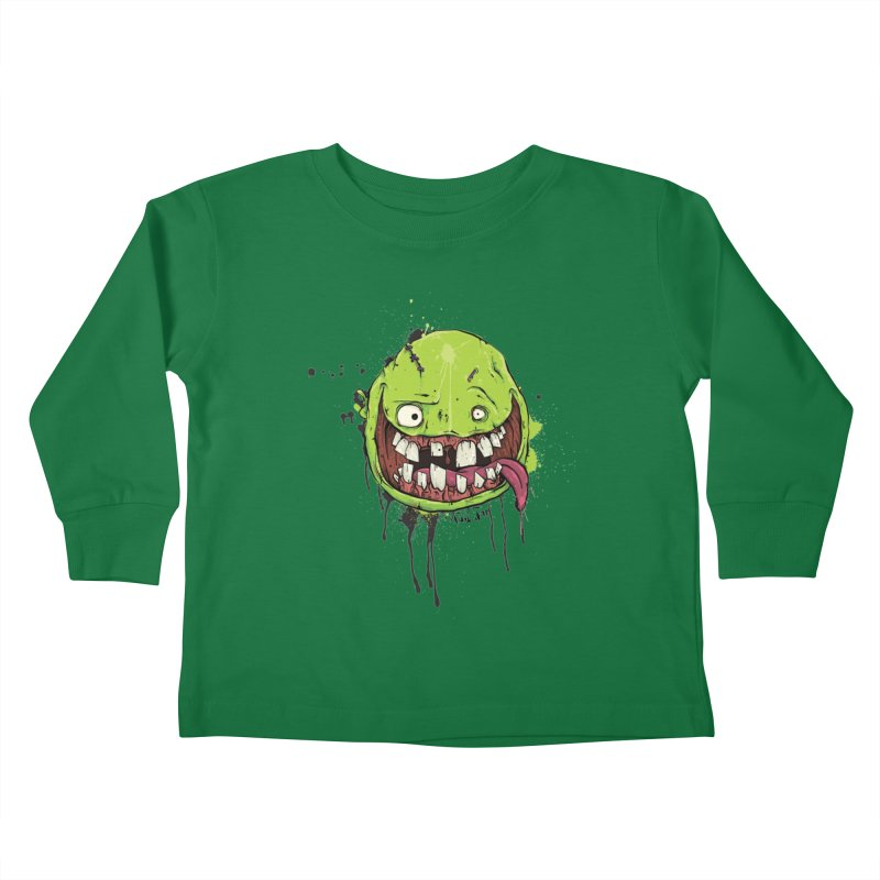 Happy Kids Toddler Longsleeve T-Shirt by Tail Jar's Artist Shop