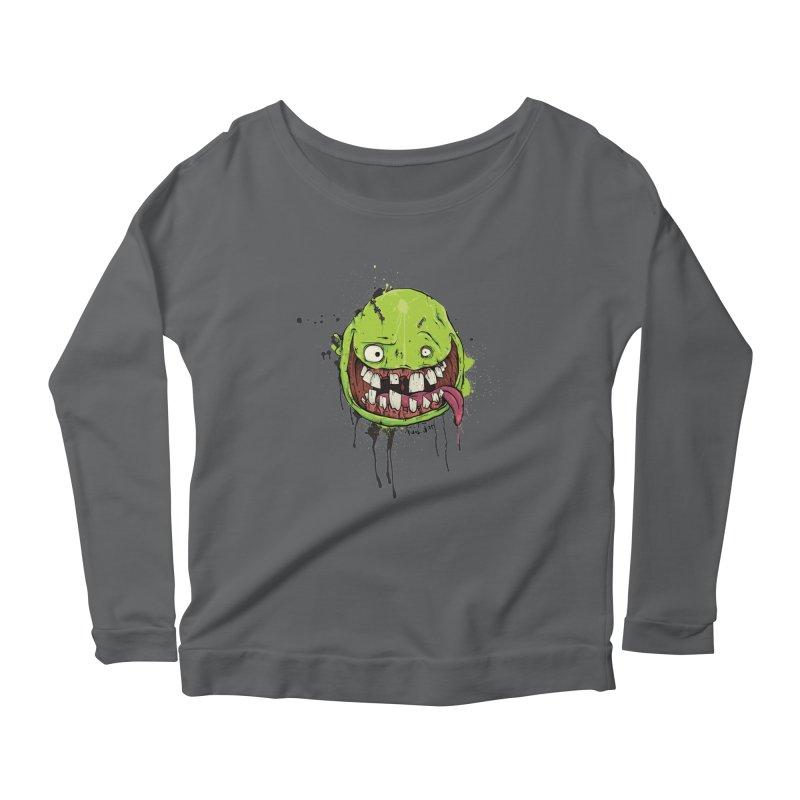 Happy Women's Scoop Neck Longsleeve T-Shirt by Tail Jar's Artist Shop