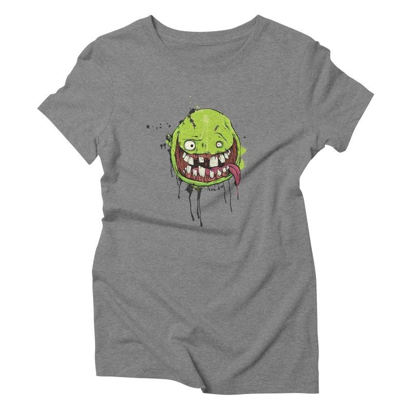 Happy Women's Triblend T-Shirt by Tail Jar's Artist Shop