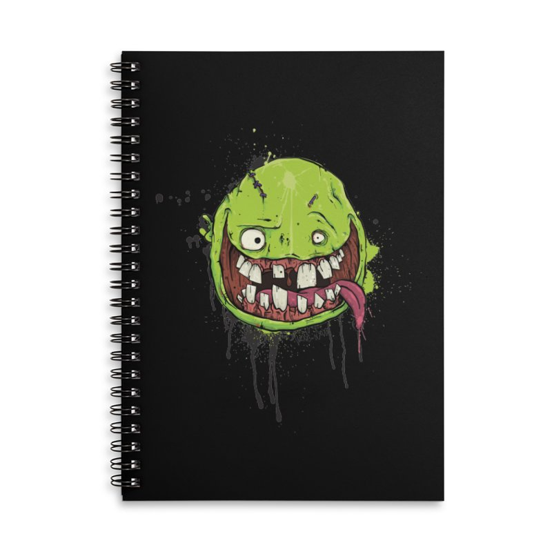 Happy Accessories Lined Spiral Notebook by Tail Jar's Artist Shop
