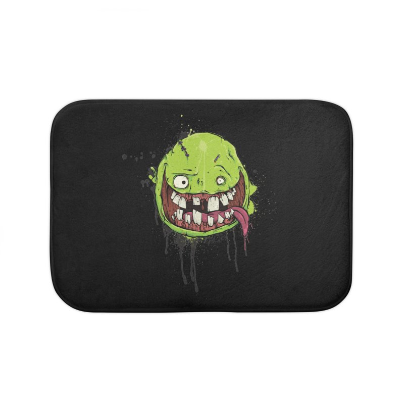 Happy Home Bath Mat by Tail Jar's Artist Shop