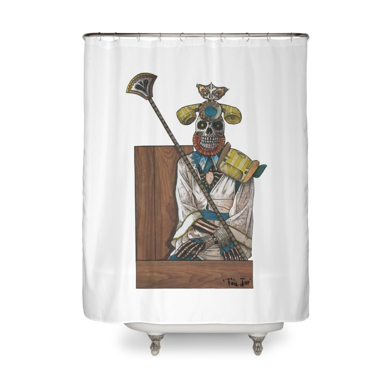 Empress Home Shower Curtain by Tail Jar's Artist Shop