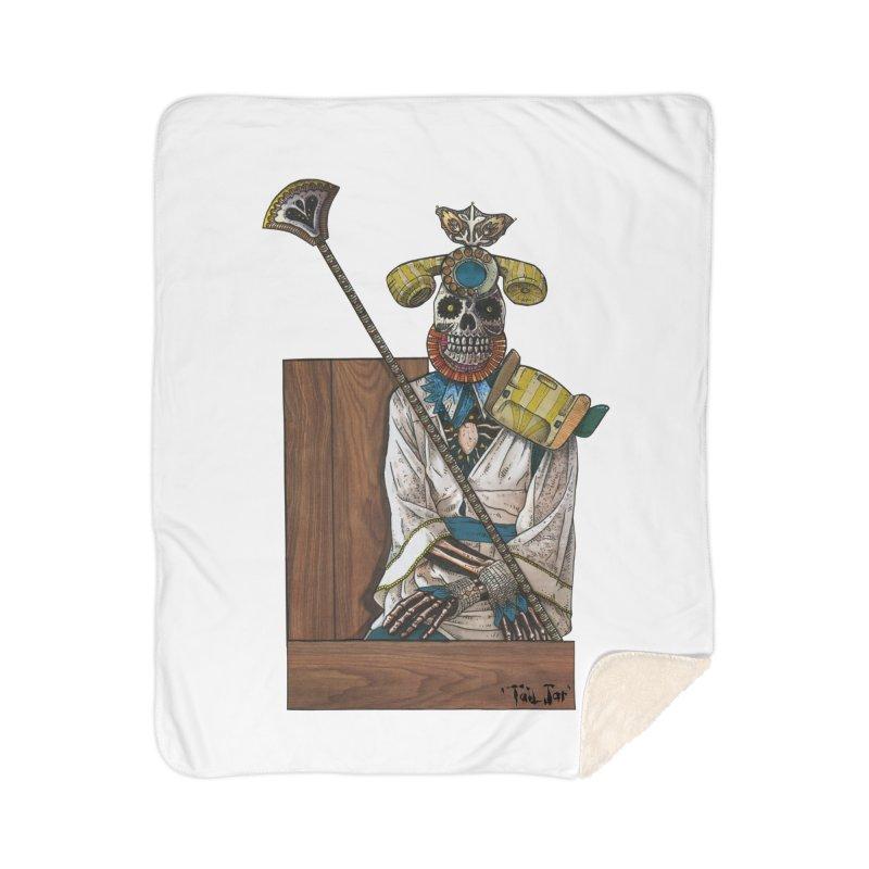 Empress Home Sherpa Blanket Blanket by Tail Jar's Artist Shop