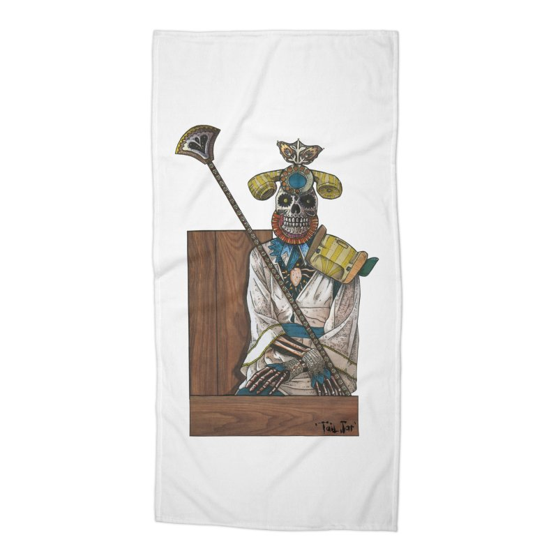 Empress Accessories Beach Towel by Tail Jar's Artist Shop