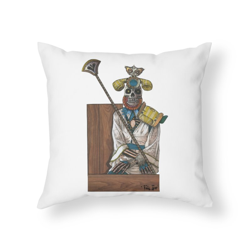 Empress Home Throw Pillow by Tail Jar's Artist Shop