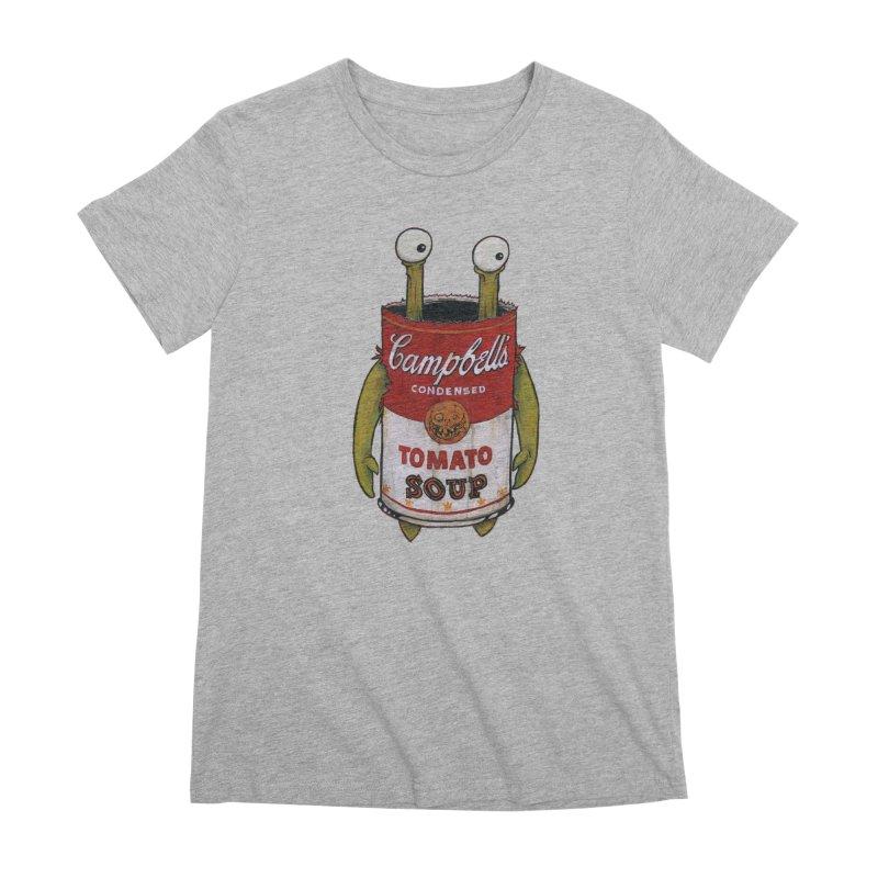 Andy Women's Premium T-Shirt by Tail Jar's Artist Shop