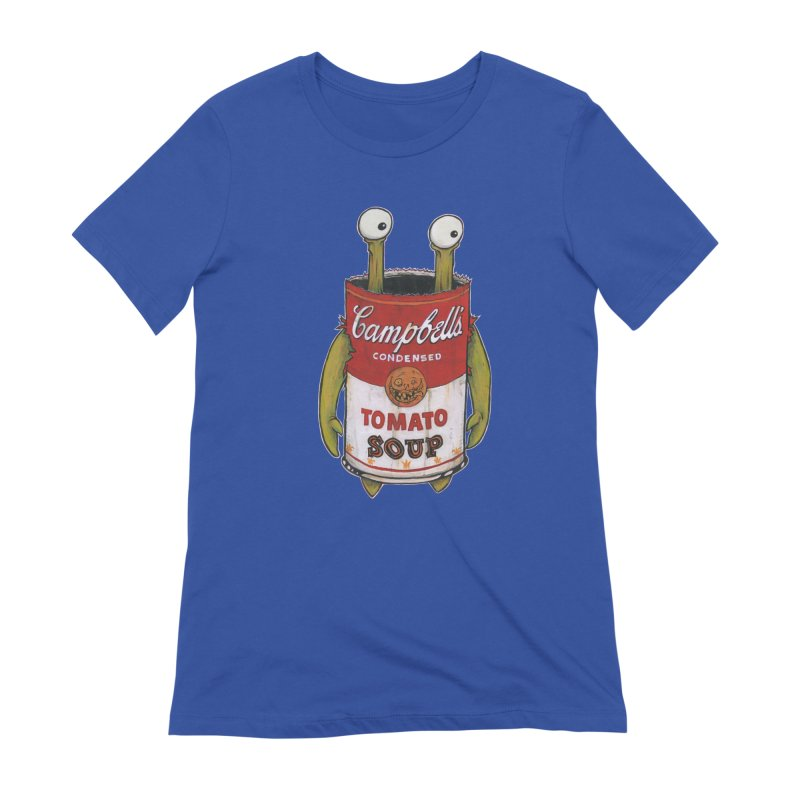 Andy Women's Extra Soft T-Shirt by Tail Jar's Artist Shop
