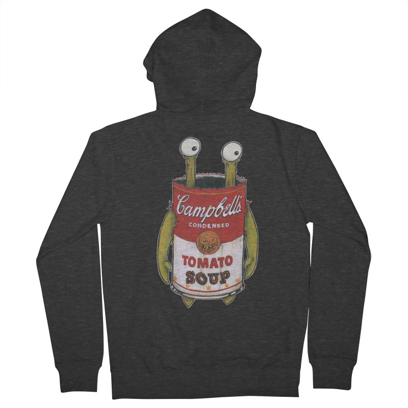 Andy Women's French Terry Zip-Up Hoody by Tail Jar's Artist Shop