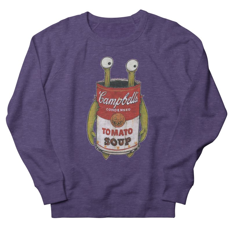Andy Women's French Terry Sweatshirt by Tail Jar's Artist Shop