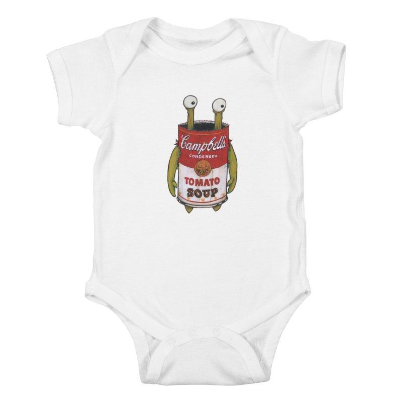 Andy Kids Baby Bodysuit by Tail Jar's Artist Shop