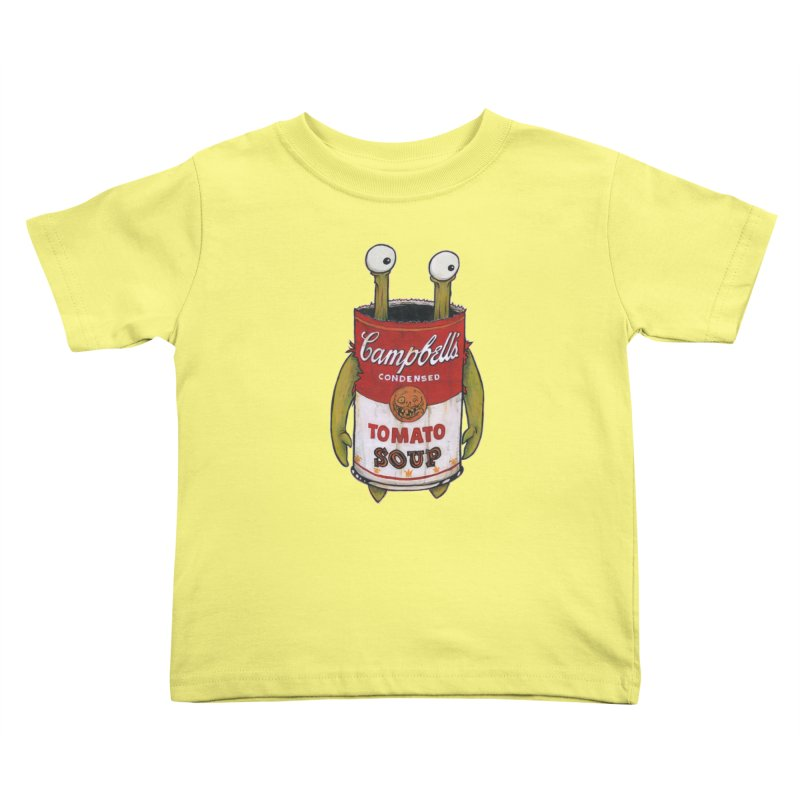 Andy Kids Toddler T-Shirt by Tail Jar's Artist Shop