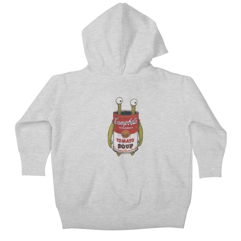 Andy Kids Baby Zip-Up Hoody by Tail Jar's Artist Shop