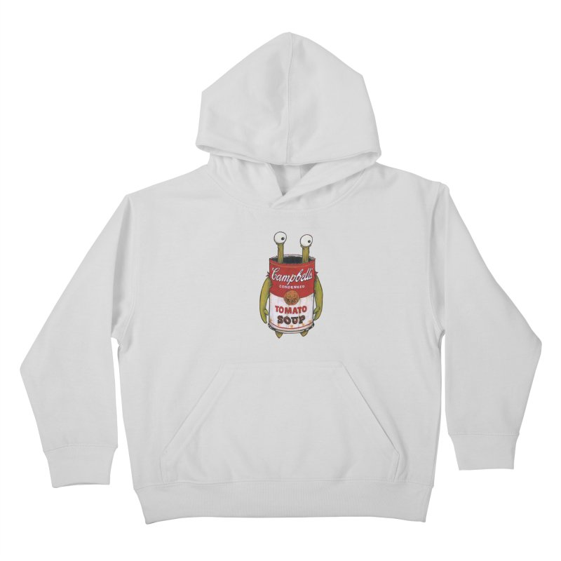 Andy Kids Pullover Hoody by Tail Jar's Artist Shop