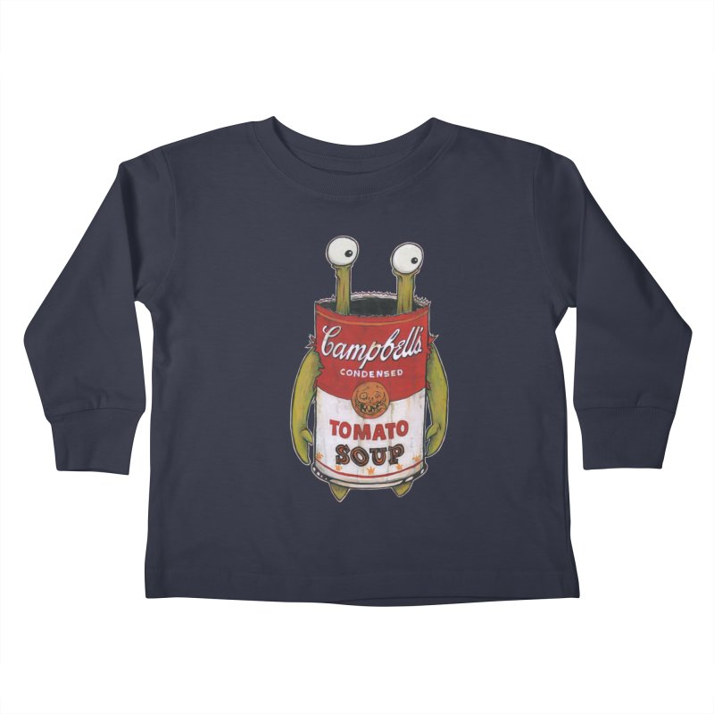 Andy Kids Toddler Longsleeve T-Shirt by Tail Jar's Artist Shop