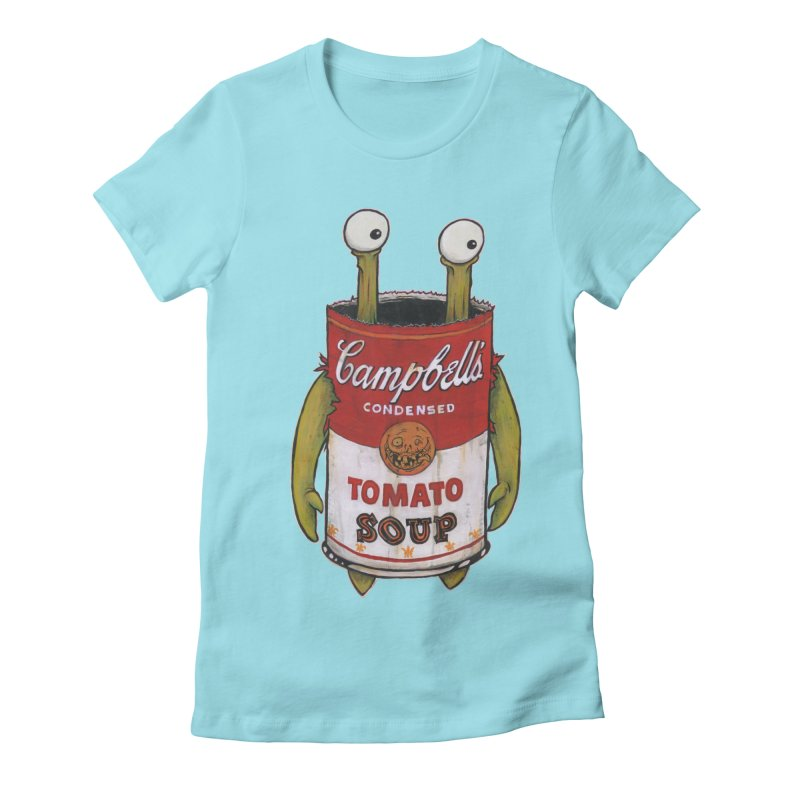Andy Women's Fitted T-Shirt by Tail Jar's Artist Shop