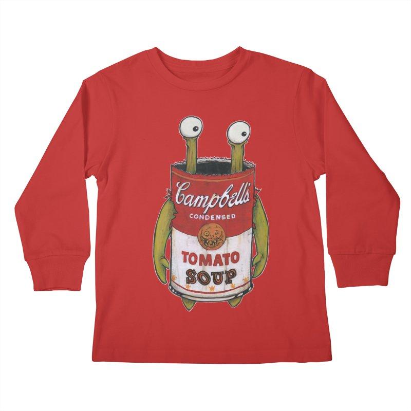 Andy Kids Longsleeve T-Shirt by Tail Jar's Artist Shop