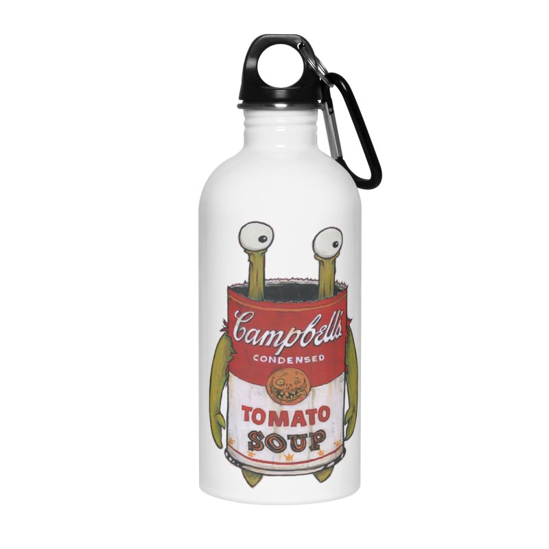Andy Accessories Water Bottle by Tail Jar's Artist Shop