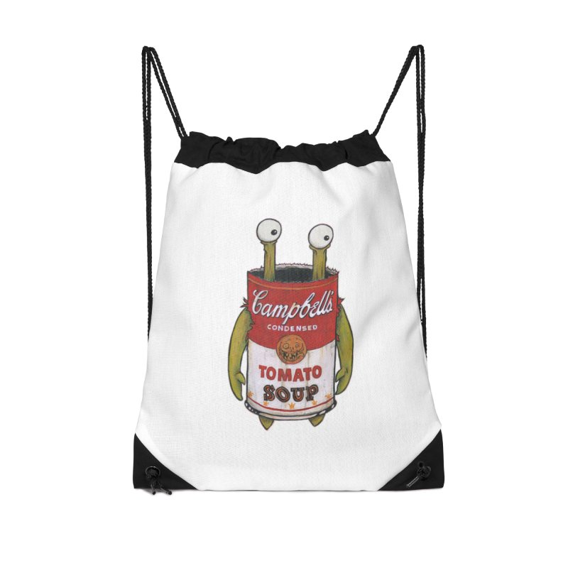 Andy Accessories Drawstring Bag Bag by Tail Jar's Artist Shop