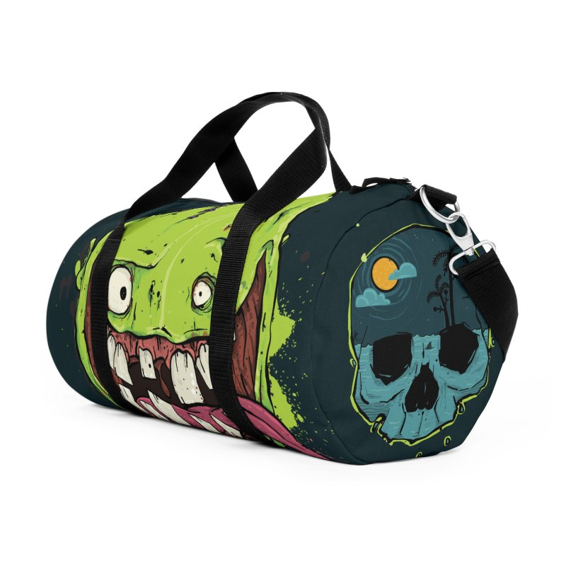 Happy Sad Duffel Bag in Duffel Bag by Tail Jar's Artist Shop