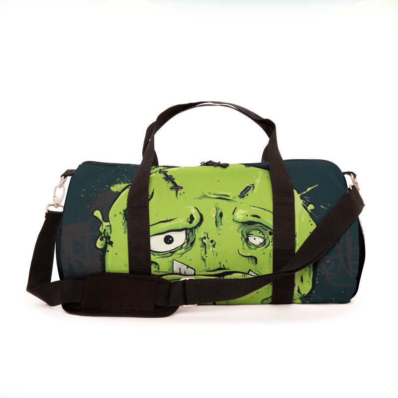 Happy Sad Duffel Bag Accessories Bag by Tail Jar's Artist Shop