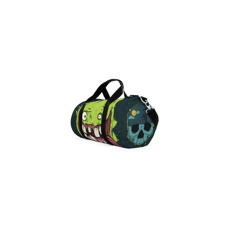 Happy Sad Duffel Bag by Tail Jar's Artist Shop