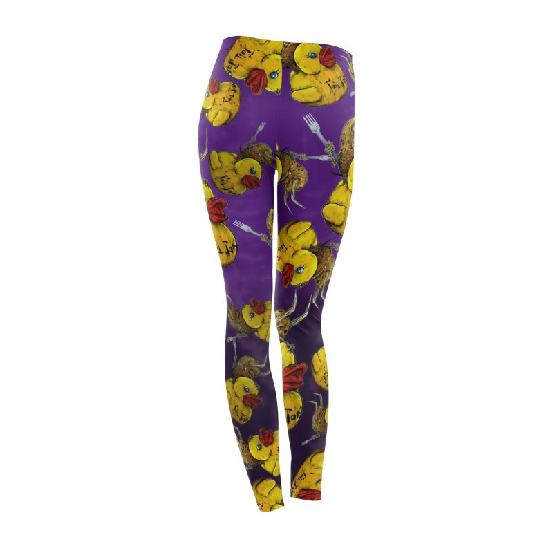 Vargus Pattern Leggings Women's Bottoms by Tail Jar's Artist Shop
