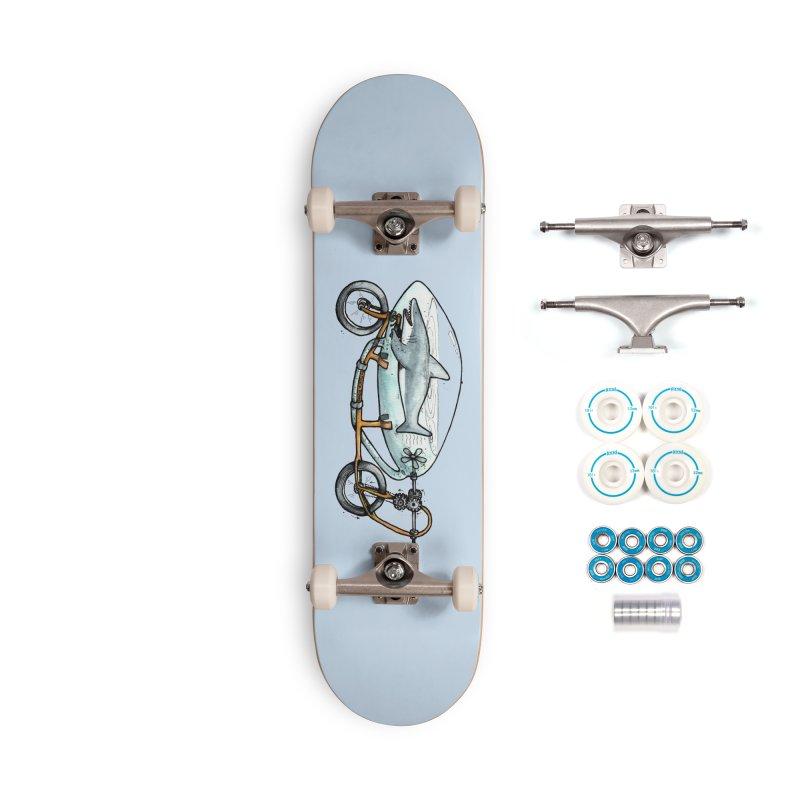 Shark Ride Accessories Skateboard by Taj Mihelich