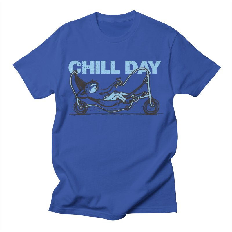 Chill Day Men's T-Shirt by Taj Mihelich