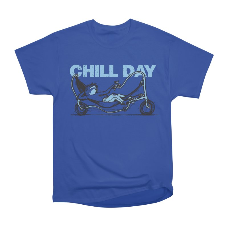Chill Day Men's Heavyweight T-Shirt by Taj Mihelich
