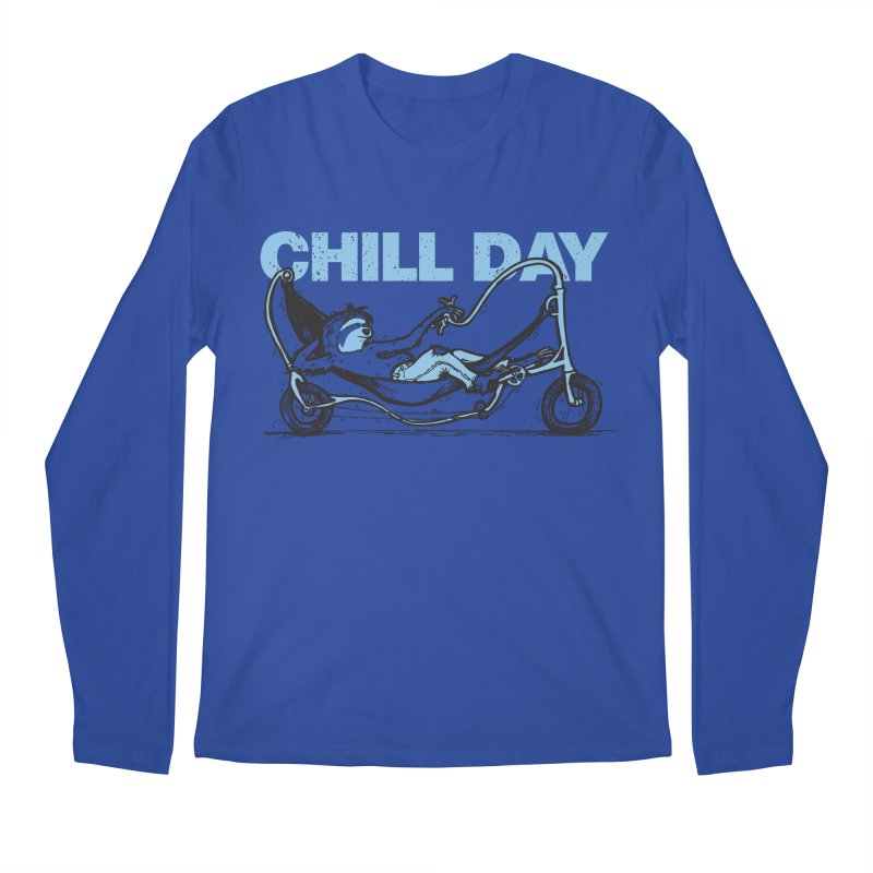 Chill Day Men's Regular Longsleeve T-Shirt by Taj Mihelich
