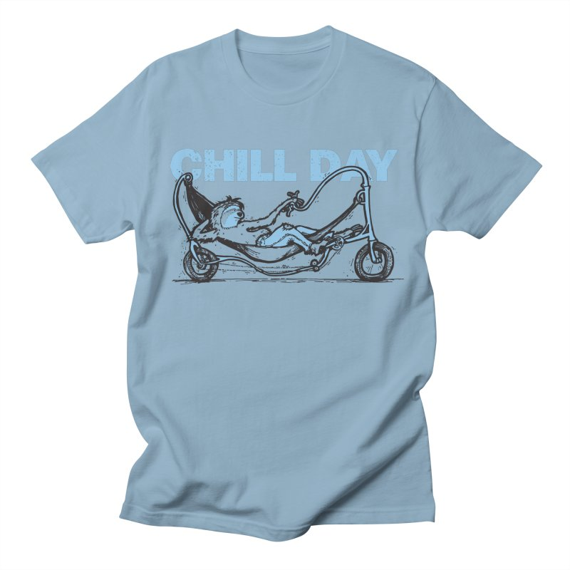 Chill Day Men's Regular T-Shirt by Taj Mihelich