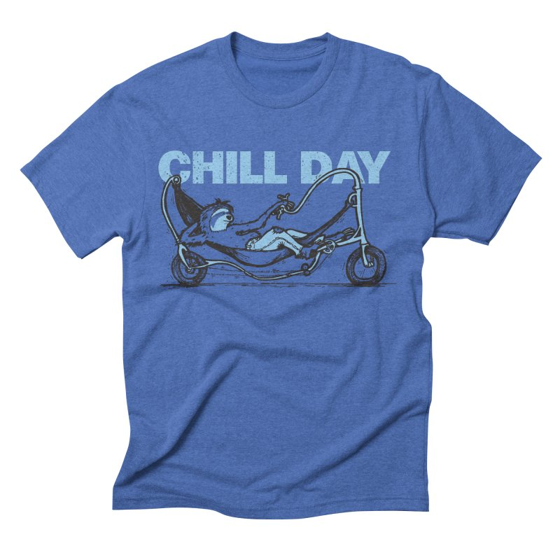 Chill Day Men's Triblend T-Shirt by Taj Mihelich