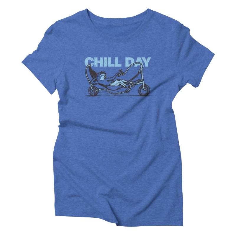Chill Day Women's Triblend T-Shirt by Taj Mihelich